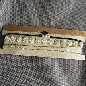 4 Choker Necklaces
