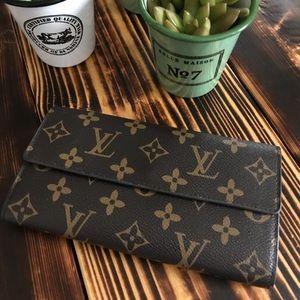 Vintage Louis Vuitton monogram wallet
