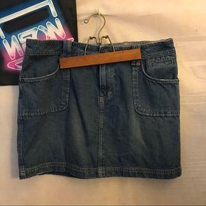 Route 66 Denim Women's Mini Skirt Pocket S A2205