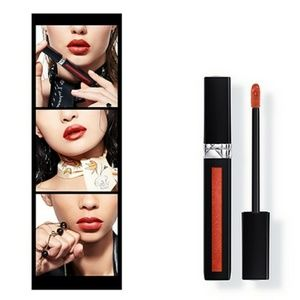 New Dior Liquid Lip Stain in #751 Rusty Red