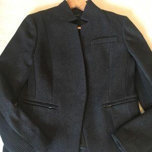 Ann Taylor notch collar wool blazer/jacket