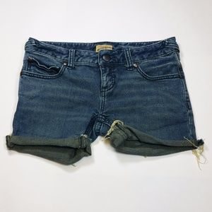 Free People jean shorts blue