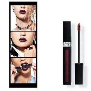 New Dior Liquid Lip Stain in #895 Redish Black