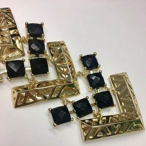 Kendra Scott Coco Bracelet in Gold and Black