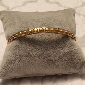 Chic✨kate spade ♠️ textured stackable gold bangle