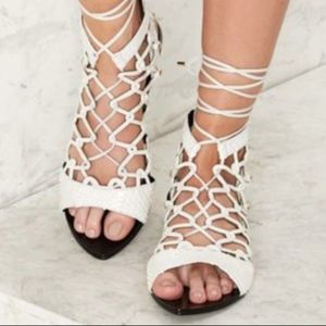 NWT Lust For Life Gladiator Sandals