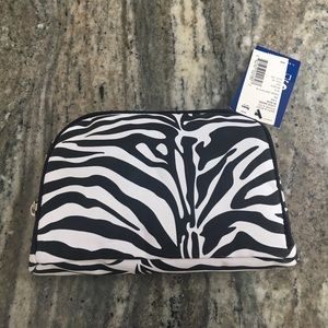 Zebra Print Makeup Travel Bag