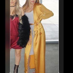 Windsor silk coat
