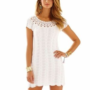 White Lilly Pulitzer sweater dress