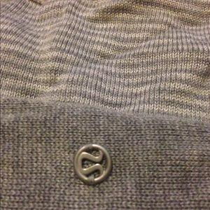 Lululemon Iconic Wrap Grey White Stripes