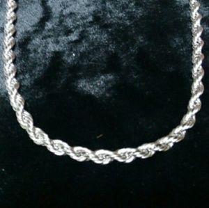 Stainless Steel men's rope thick chain