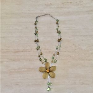 Gorgeous, Austrian Crystal Necklace, New