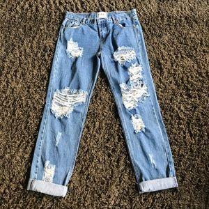 One by one teaspoon Boyfriend Jeans!