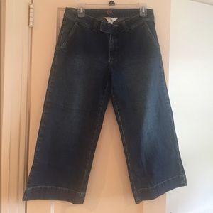 Lilly Pulitzer denim crop pants size 6