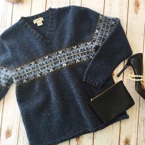 Eddie Bauer lambswool sweater