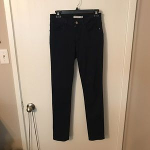 Zara dark blue stretch pants