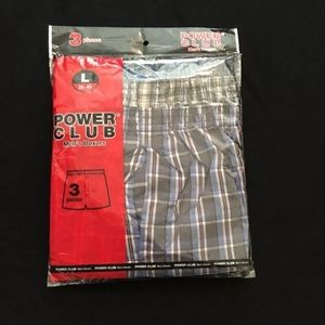 Other - Power Club Men's Boxers Sz large new