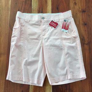 Lee Comfort Fit Bermuda Shorts - Light Pink