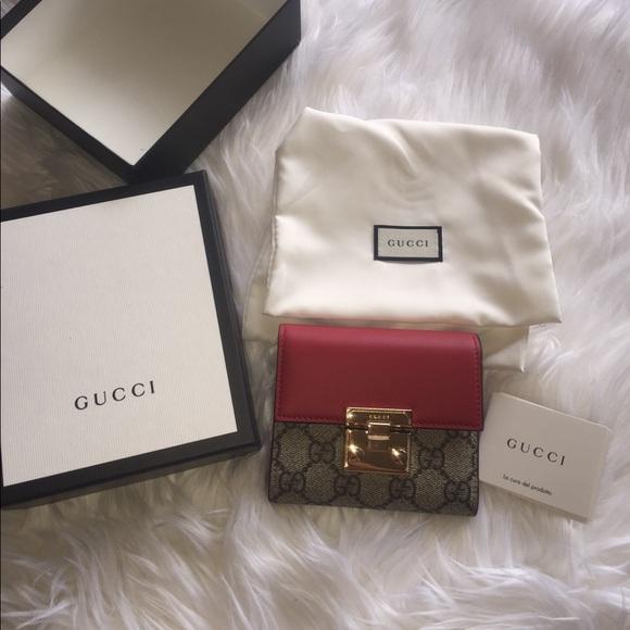 86380e28b065 Gucci Bags | Padlock Gg Supreme Leather French Wallet | Poshmark