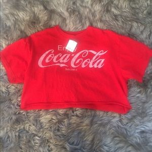 urban outfitters Coca Cola crop top