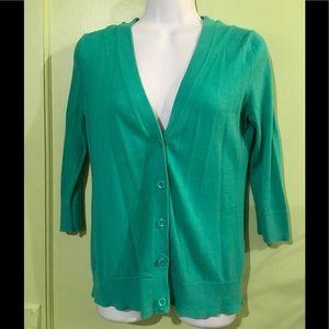 GAP - Green/Teal Caridgan/Sweater