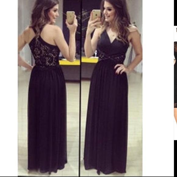 a4be120a243 Ketty More Dresses   Skirts - NWT-floor length sleeveless black dress