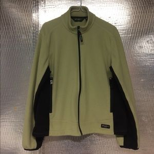 Eddie Bauer full zip Polartec jacket