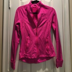 Lululemon hot pink jacket perfect condition