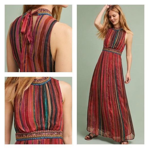 97dc66c27 Anthropologie Dresses   Skirts - Anthropologie Artista Maxi Dress