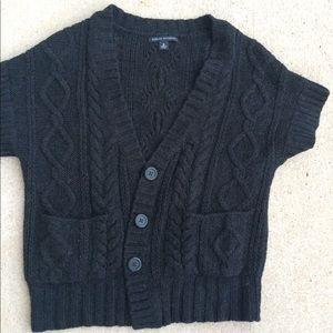Black banana republic short-sleeve sweater