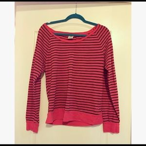 PINK Striped Long Sleeve