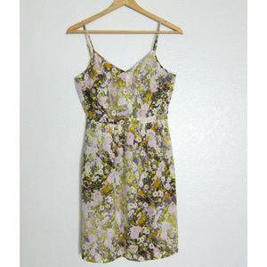 Madewell  Silk Cami Dress in Sungarden Size 0