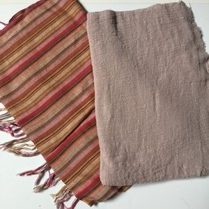 Pair of lightweight scarves