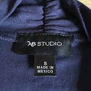 AB Studio Sweaters - SALE♨️NWT🌟Rayon/spandex navy blue open cardigan