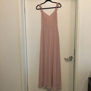 434e72c63688 Lulu's Dresses | Lulus Meteoric Rise Blush Maxi Dress Large | Poshmark