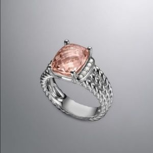 David Yurman - Wheaton Ring - Morganite Stone