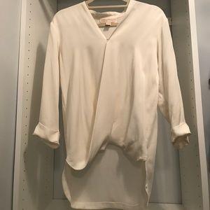 Michael Michael Kors 100% silk surplice top