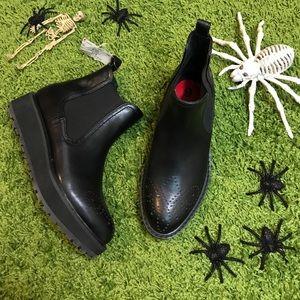 Dolce Vita Zaria black platform boots booties