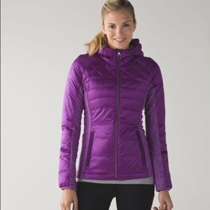 Lululemon Down for a Run quilted jacket