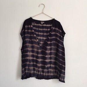 Urban Outfitters Ecote Tie Dye Distressed Top XS