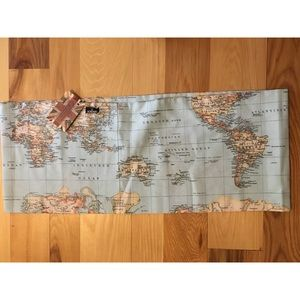 Songbird Fashion World Map Infinity Scarf