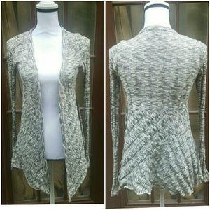 Silence +noise  heather gray  cardigan size medium