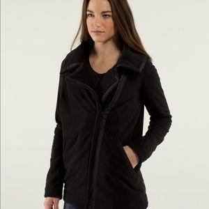 Lululemon Black Moto Jacket