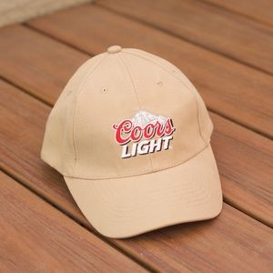 Nude Coors Light Dad Hat Ball Cap