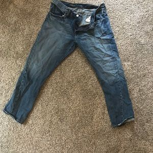 J. Crew Cropped Vintage Straight Jean - never worn