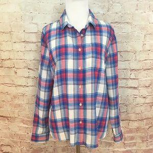 Madewell Soft Plaid Flannel Shirt