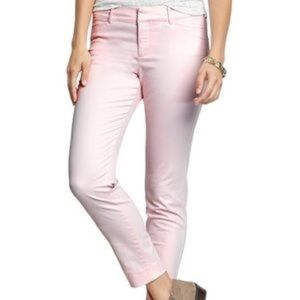 PLUS SIZE OLD NAVY PIXIE PANT PINK 18