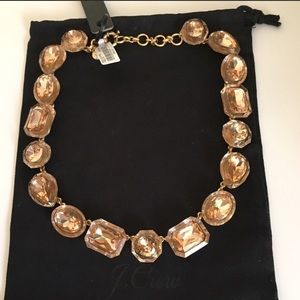 Jcrew box Crystal necklace