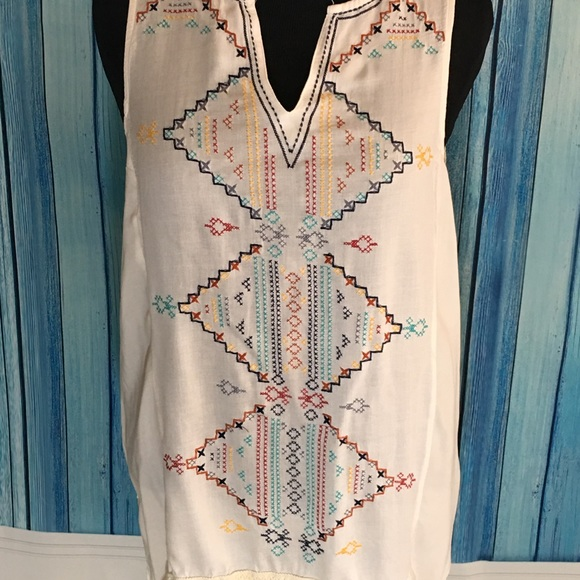 679cfaff544419 knox Rose Tops - Plus Size XXL Knox Rose boho embroidered tunic.