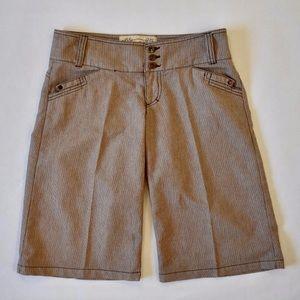 American Rag Bermuda Shorts size 3 Junior-Brown
